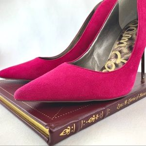 Sam Edelman Stiletto Heel Pointy Toe Pumps Size 10